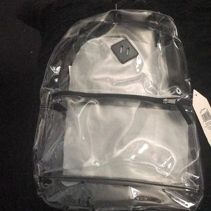 Accessories - Clear backpack